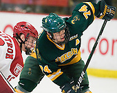 Alex Fallstrom (Harvard - 16), Ben Sexton (Clarkson - 74) - The Harvard University Crimson defeated the visiting Clarkson University Golden Knights 3-2 on Harvard's senior night on Saturday, February 25, 2012, at Bright Hockey Center in Cambridge, Massachusetts.
