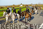Start of the Abbeydorney Harriers Hunt on Sunday.
