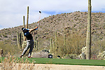 Ryan Moore (USA) in action on the 13th tee during Day 3 of the Accenture Match Play Championship from The Ritz-Carlton Golf Club, Dove Mountain, Friday 25th February 2011. (Photo Eoin Clarke/golffile.ie)