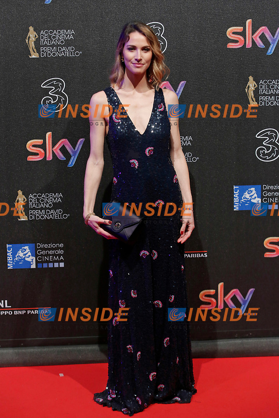 Ludovica Sauer<br /> Roma 27-03-2017. Premio David di Donatello 2017.<br /> Rome March 27th 2017. David di Donatello ceremony 2017. <br /> Foto Samantha Zucchi Insidefoto
