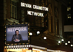 "Theatre Marquee for the Broadway Opening Night Performance Curtain Call for ""Network"" starring Bryan Cranston at the Belasco Theatre on December 6, 2018 in New York City."