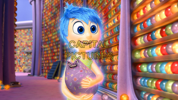 Joy (voice of Amy Poehler)  <br /> in Inside Out (2015) <br /> *Filmstill - Editorial Use Only*<br /> CAP/FB<br /> Image supplied by Capital Pictures