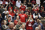 LAS VEGAS, NV - MARCH 8:  Fans during Saint Mary's 81-62 win over the Gonzaga Bulldogs in the championship game of the 2010 Zappos West Coast Conference Basketball Championships on March 8, 2010 at Orleans Arena in Las Vegas Nevada.