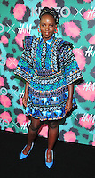 NEW YORK, NY - OCTOBER 19: Lupita Nyongío  attends KENZO x H&M - Arrivals at Pier 36 on October 19, 2016 in New York City. Credit: John Palmer / MediaPunch