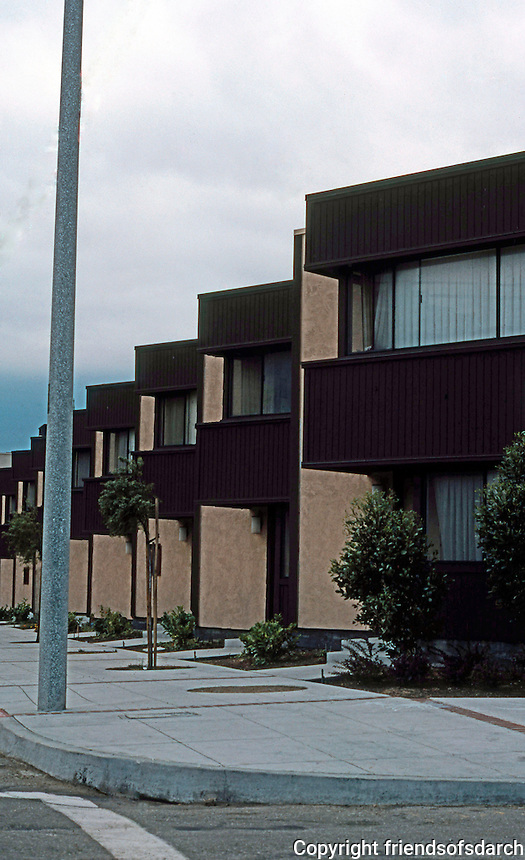 San Francisco: Western Addition, Public Housing. 1970-73 (?)   Photo '78.