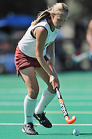 Stanford, CA - SEPTEMBER 27:  Forward Chloe Bade #17 of the Stanford Cardinal during Stanford's 7-0 win over the Pacific Tigers on September 27, 2008 at the Varsity Field Hockey Turf in Stanford, California.