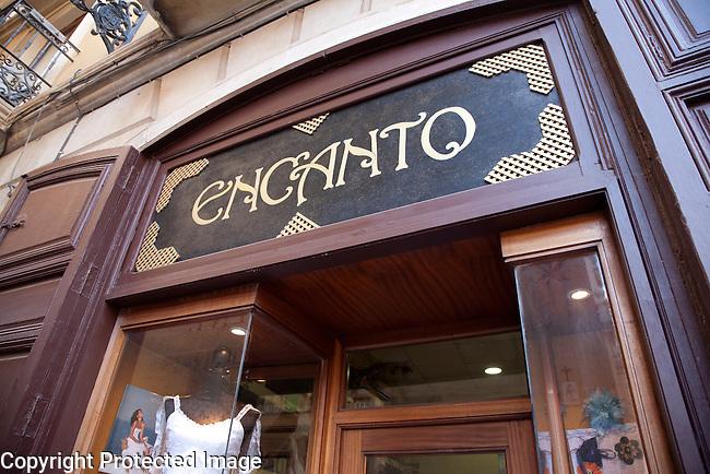 Encanto Fashion Shop in Miguel Soler Street, Alicante, Spain