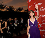 Rita Rudner waves to the cameras during the Palm Springs International Film Festival red carpet event at the Palm Springs Convention Center on Saturday.