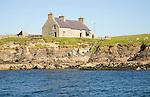 Warden's house, Isle of Noss, Shetland Islands, Scotland