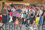 Donal Kiely, seated second from left, from Causeway celebrated his 40th birthday at The Hopper Inn Causeway on Friday night with family and friends...   Copyright Kerry's Eye 2008