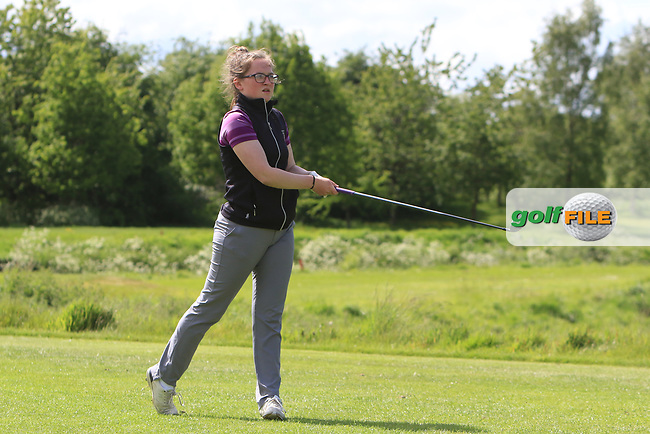 Molly O'Hara (Clandeboye) on the 15th tee during Round 4 of the Ulster Stroke Play Championships at Galgorm Castle Golf Club, Ballymena, Northern Ireland. 28/05/19<br /> <br /> Picture: Thos Caffrey / Golffile<br /> <br /> All photos usage must carry mandatory copyright credit (© Golffile | Thos Caffrey)
