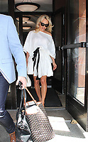 JUN 06 Pamela Anderson Seen Leaving Entertainment Tonight