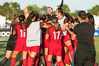 Bradenton, FL - Sunday, June 12, 2018: Mark Carr, USA, celebration during a U-17 Women's Championship Finals match between USA and Mexico at IMG Academy.  USA defeated Mexico 3-2 to win the championship.