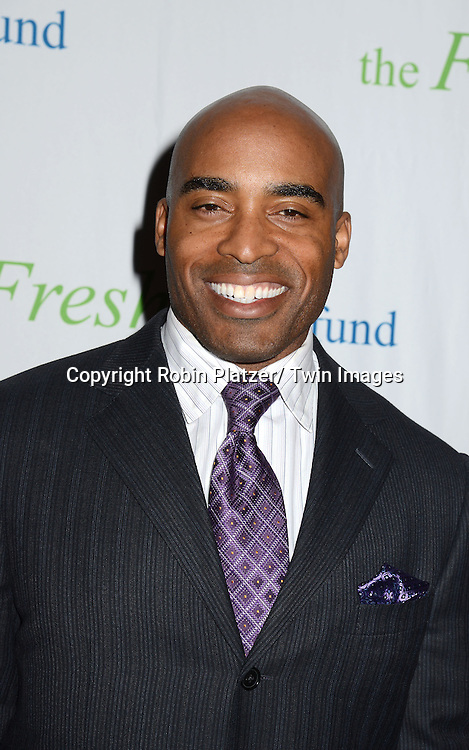Tiki Barber attends The Fresh Air Fund Salute to Mariah Carey on May 29, 2014 at Pier Sixty at Chelsea Piers in New York, New York, USA.