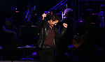 """during the Broadway Opening Night Performance Curtain Call of  """"Rocktopia"""" at The Broadway Theatre on March 27, 2018 in New York City."""