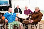 Abbeyfeale Races: Attending Abbeyfeale Races on Sunday last were Moss Kelly, Colin Horgan Mattie Carmody & Jim Kennelly.
