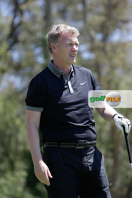 David Moyes (Am) on the 17th tee during the Pro-Am in The Open De Espana at The PGA Catalunya Resort on Wednesday 14th May 2014.<br /> Picture:  Thos Caffrey / www.golffile.ie