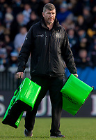 Exeter Chiefs' Head Coach Rob Baxter<br /> <br /> Photographer Bob Bradford/CameraSport<br /> <br /> European Rugby Heineken Champions Cup Pool 2 - Exeter Chiefs v Castres - Sunday 13th January 2019 - Sandy Park - Exeter<br /> <br /> World Copyright © 2019 CameraSport. All rights reserved. 43 Linden Ave. Countesthorpe. Leicester. England. LE8 5PG - Tel: +44 (0) 116 277 4147 - admin@camerasport.com - www.camerasport.com