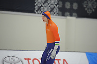 SPEEDSKATING: SALT LAKE CITY: 07-12-2017, Utah Olympic Oval, training ISU World Cup, Pim Schipper (NED), ©photo Martin de Jong