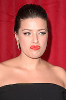 Sophie Austin<br /> arrives for the British Soap Awards 2016 at Hackney Empire, London.<br /> <br /> <br /> &copy;Ash Knotek  D3124  28/05/2016