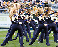 November 08, 2008: Pitt dance team performs. The Pitt Panthers defeated the Louisville Cardinals 41-7 on November 08, 2008 at Heinz Field, Pittsburgh, Pennsylvania.