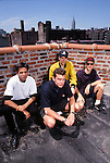 Various portrait sessions of the rock band, Helmet.