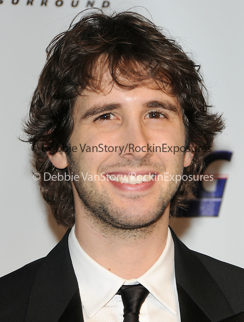Josh Groban at The 2010 Musicares Person of The Year Tribute to Neil Young held at The L.A. Convention Center in Los Angeles, California on January 29,2010                                                                   Copyright 2009  DVS / RockinExposures