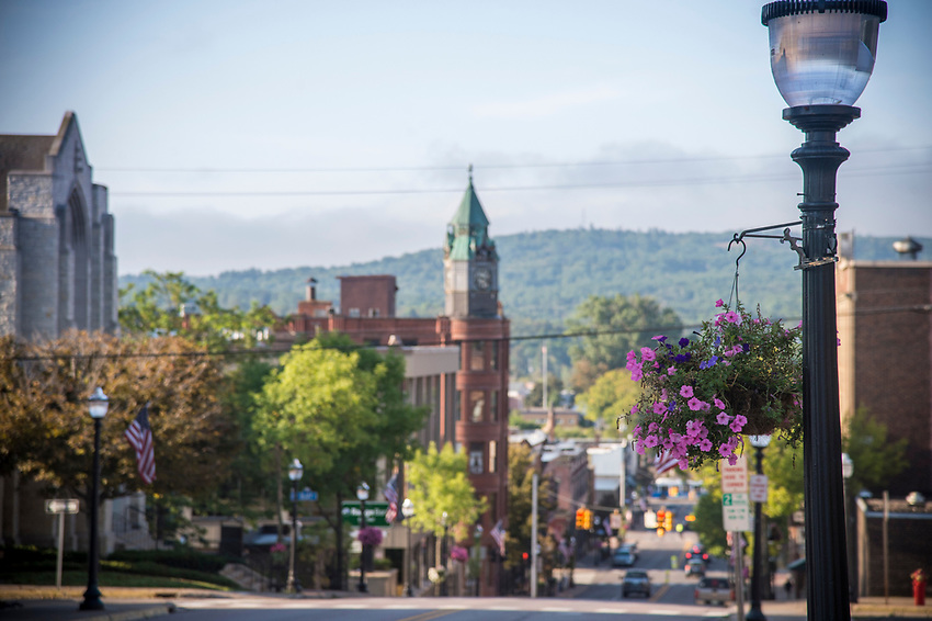 Downtown Marquette, Michigan