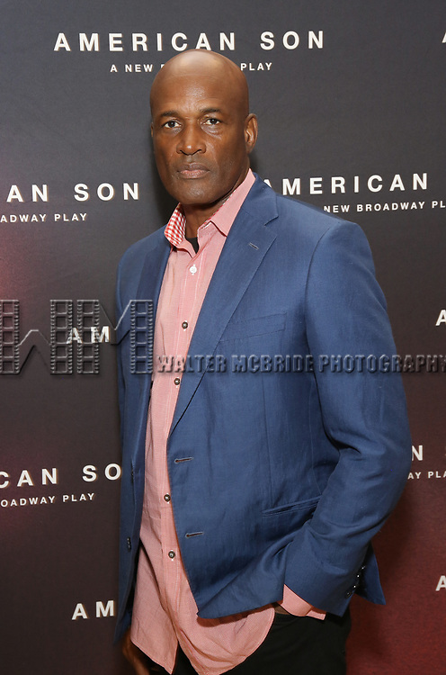 """attends the Cast photo call for the New Broadway Play """"American Son"""" on September 14, 2018 at the New 42nd Street Studios in New York City."""