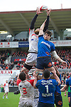 biarritz. pais vasco. rugby<br /> rugby match during the rugby french league, 02-03-14<br /> En la imagen :<br /> lund (bo)<br /> photocall3000 / rme