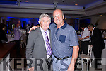 Micko & Jack O'Shea at the gala dinner in the Sea Lodge Waterville on Saturday night.