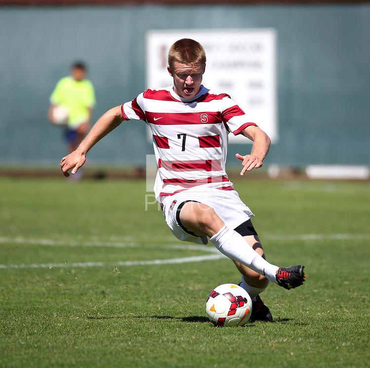 Stanford, CA; Sunday September 22, 2013: Men's Soccer, Stanford vs Colgate.