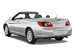 Rear three quarter view of a 2008 Chrysler Sebring Convertible