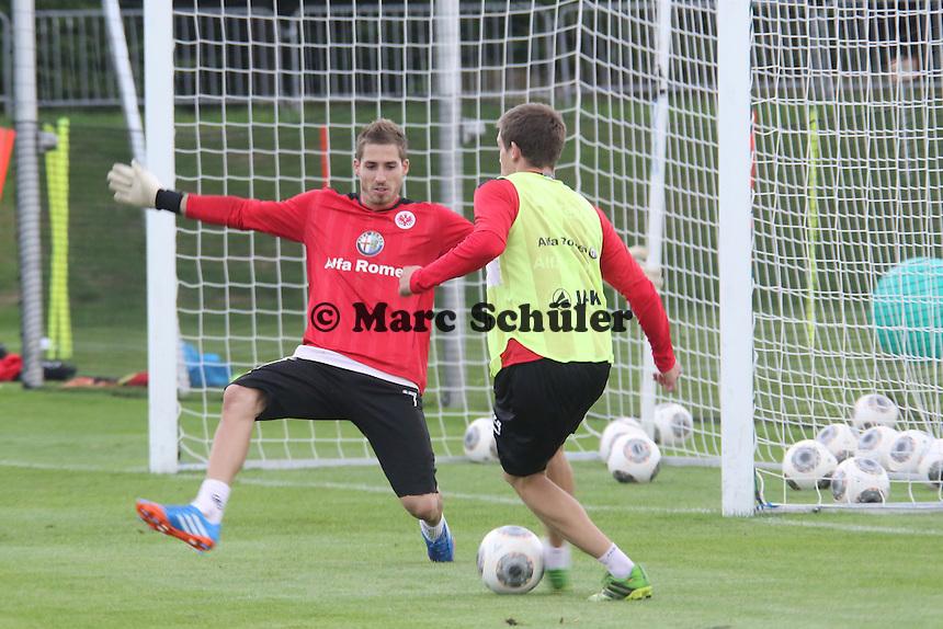 Sebastian Jung gegen Kevin Trapp(Eintracht)