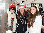 Shannon McAuley, Jessica Sullivan and Sadbh McCann pictured at Dunleer Christmas fair. Photo:Colin Bell/pressphotos.ie
