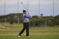 Richie Ramsay (SCO) on the 17th fairway during round 4 of the Alfred Dunhill Links Championship at Old Course St. Andrew's, Fife, Scotland. 07/10/2018.<br /> Picture Thos Caffrey / Golffile.ie<br /> <br /> All photo usage must carry mandatory copyright credit (&copy; Golffile | Thos Caffrey)