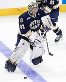 Joe Rogers (Notre Dame - 31) - The University of Notre Dame Fighting Irish defeated the Merrimack College Warriors 4-3 in overtime in their NCAA Northeast Regional Semi-Final on Saturday, March 26, 2011, at Verizon Wireless Arena in Manchester, New Hampshire.