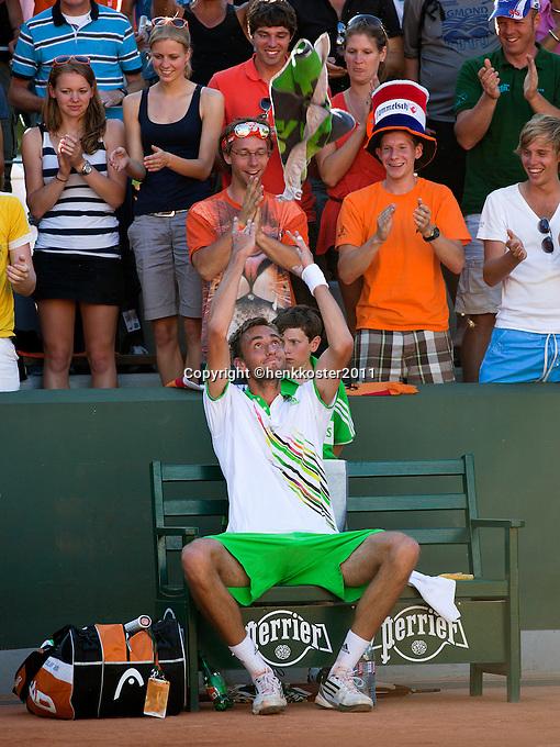 Roland Garros Handdoek.Roland Garros 2011 Tennisimages Com