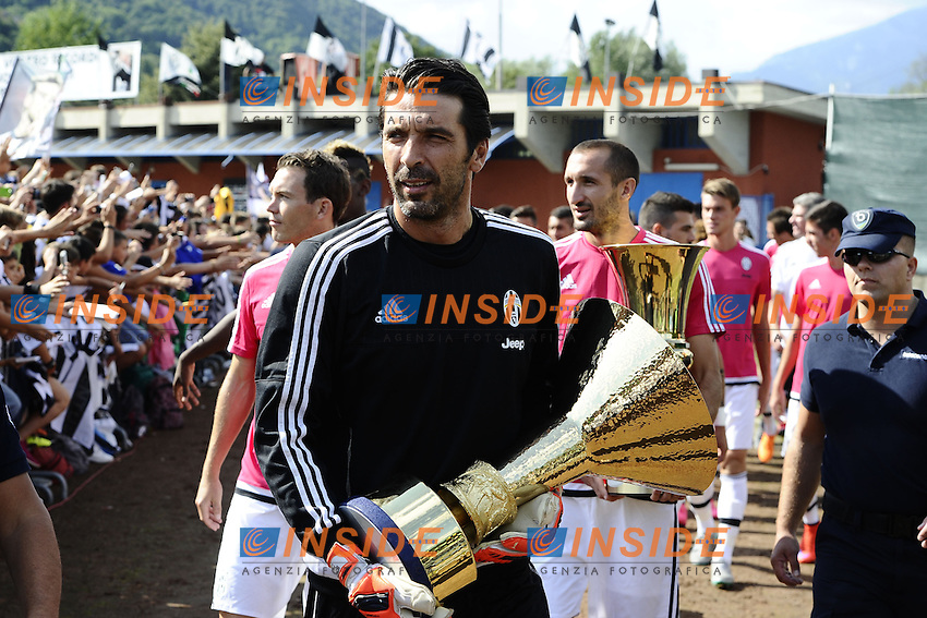 Villar Perosa (To) 19-08-2015 - amichevole / Juventus A-Juventus B / foto Daniele Buffa/Image Sport/Insidefoto<br /> nella foto: Gianluigi Buffon