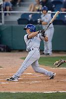 August 24, 2010: Tri-City Dust Devils' Chandler Laurent (3) at-bat during a Northwest League game against the Everett AquaSox at Everett Memorial Stadium in Everett, Washington.