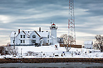 Eastern Point Light in Gloucester, Cape Ann, MA, USA