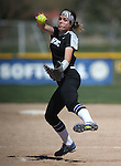 Western Nevada&rsquo;s Kristina George pitches against College of Southern Nevada at Edmonds Sports Complex in Carson City, Nev., on Friday, April 1, 2016. <br />Photo by Cathleen Allison/Nevada Photo Source