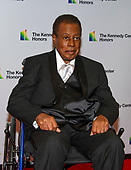 Wayne Shorter arrives for the formal Artist's Dinner honoring the recipients of the 41st Annual Kennedy Center Honors hosted by United States Deputy Secretary of State John J. Sullivan at the US Department of State in Washington, D.C. on Saturday, December 1, 2018. The 2018 honorees are: singer and actress Cher; composer and pianist Philip Glass; Country music entertainer Reba McEntire; and jazz saxophonist and composer Wayne Shorter. This year, the co-creators of Hamilton­ writer and actor Lin-Manuel Miranda, director Thomas Kail, choreographer Andy Blankenbuehler, and music director Alex Lacamoire will receive a unique Kennedy Center Honors as trailblazing creators of a transformative work that defies category.<br /> Credit: Ron Sachs / Pool via CNP