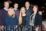 L-R Brendon, Anna, Brandan and Annalee O'Mahony, Donal and Mary O'Donoghue all from Killarney photographed at the Sliabh Mish Conhaltas charity concert and Ceil in aid of Recovery Heaven and Jigsaw in the Gleneagles Hotel, Killarney last Friday night.