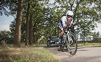 Giacomo Nizzolo (ITA/Trek-Segafredo)<br /> <br /> 12th Eneco Tour 2016 (UCI World Tour)<br /> stage 2: Breda-Breda iTT (9.6km)