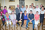 Silver Celebrations - Maurice & Anne Sugrue from Ballyseedy, seated centre having a wonderful time with family and friends at their 25th Wedding Anniversary party held in The Ballyseedy Castle Hotel on Friday night. Front l/r Patricia Hurley, Joan Hearne, Maurice & Anne Sugrue, Robert Sugrue and Joanne Dowling. Back l/r Gene Dolan, Margaret Quinlan, Noreen McEnry, Sean Quinlan, Richard McEnry, John O'Sullivan, Bridget O'Sullivan, Mike Walsh, Paul Hearne, Mike Carroll, Brendan Dolan and Siobhan Hearne... ............   Copyright Kerry's Eye 2008