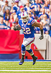 21 September 2014: Buffalo Bills running back Fred Jackson rushes against the San Diego Chargers at Ralph Wilson Stadium in Orchard Park, NY. The Chargers defeated the Bills 22-10 in AFC play. Mandatory Credit: Ed Wolfstein Photo *** RAW (NEF) Image File Available ***