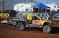 Apr 16, 2011; Surprise, AZ USA; LOORRS driver Rob Naughton (54) during round 3 at Speedworld Off Road Park. Mandatory Credit: Mark J. Rebilas-