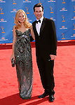 Jon Hamm & Jennifer Westfeldt..Jennifer Westfeldt  at The 62nd Anual Primetime Emmy Awards held at Nokia Theatre L.A. Live in Los Angeles, California on August 29,2010                                                                   Copyright 2010  DVS / RockinExposures