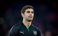 Goalkeeper Emiliano Martinez of Arsenal during the UEFA Europa League match between Arsenal and Qarabag FK at the Emirates Stadium, London, England on 13 December 2018. Photo by Andy Rowland.